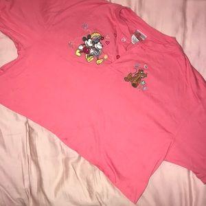 Vintage Dinsey crop shirt